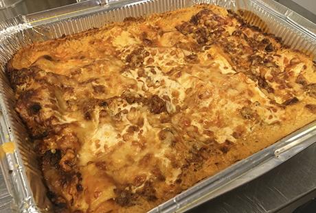 jauheliha lasagne